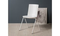 Chaise empilable Acme - coloris Nude